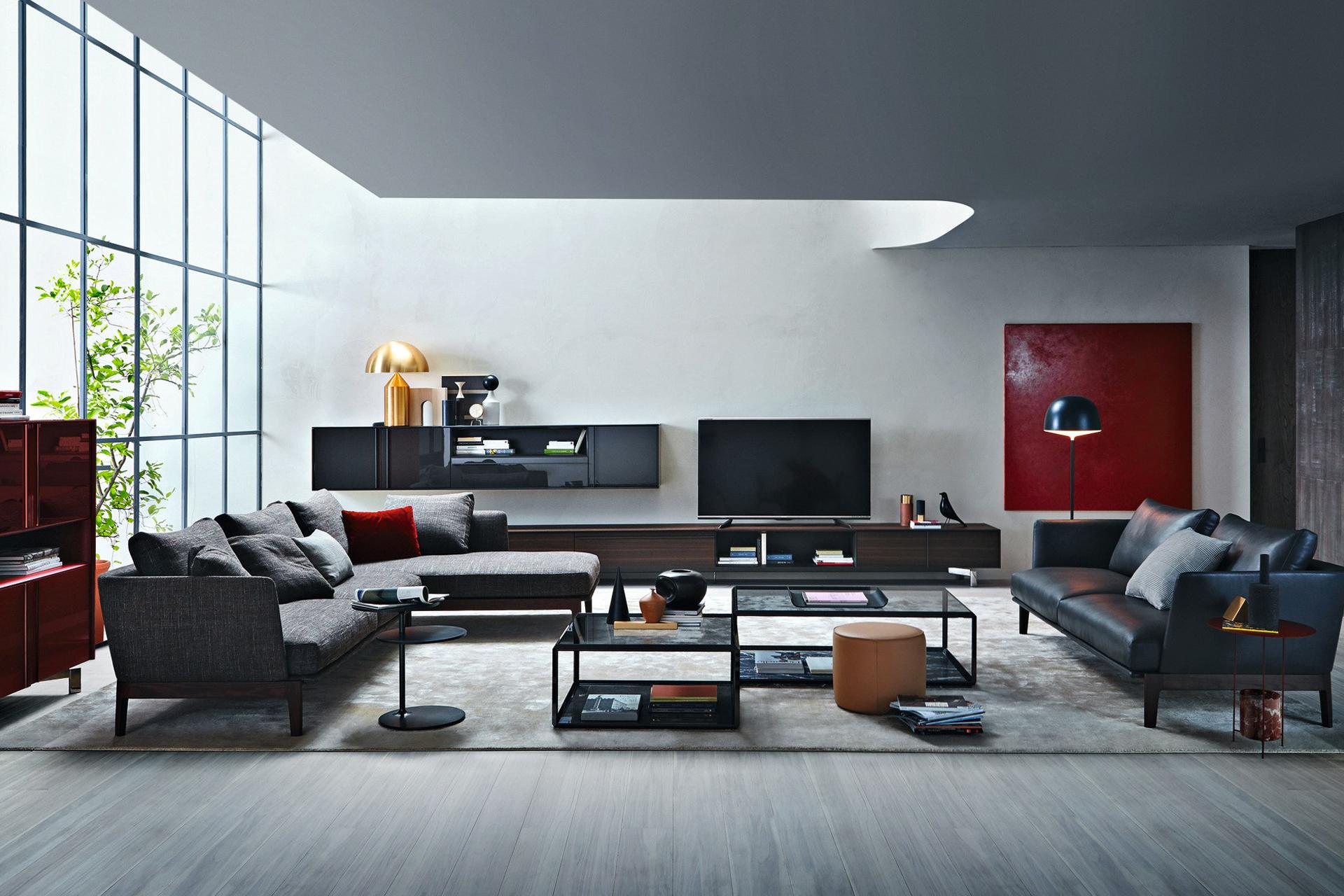 Abitare in stile molteni bruno interni for Arredamento abitare