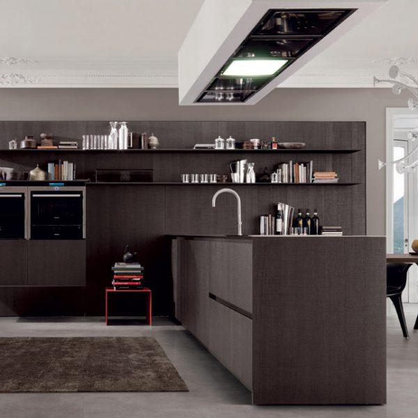 Bruno Interni - Cucina Antis collezione Euromobil - Zona Giorno