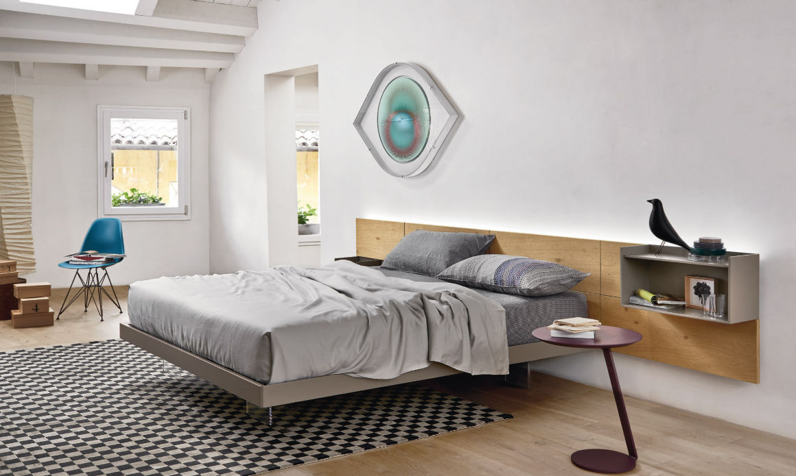 Bruno Interni - Letto Ecletto collezione Sangiacomo - Zona Notte
