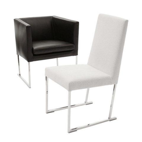 La colección de sillas Solo es un diseño de Antonio Citterio para la firma B&B Italia caracterizada por su estructura y las diferentes tipologias existentes.